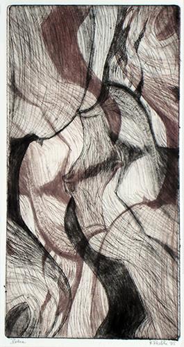 Netze, Farbholzschnitt